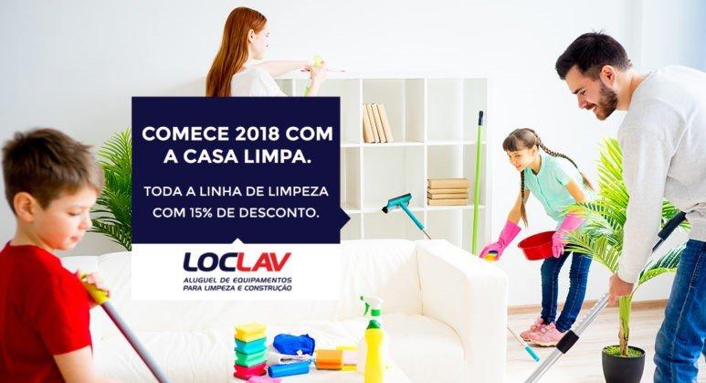 COMECE 2018 COM A CASA LIMPA