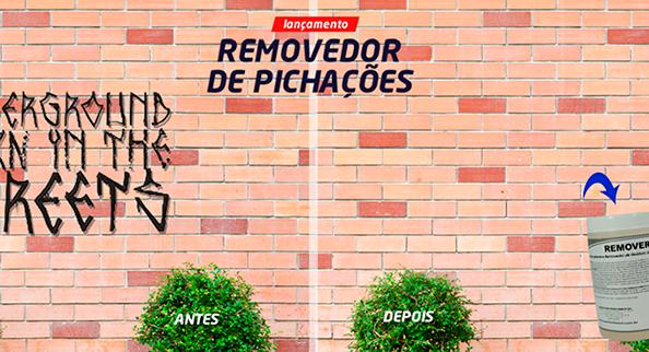 Removerex: Removedor de Pichações da LOC LAV