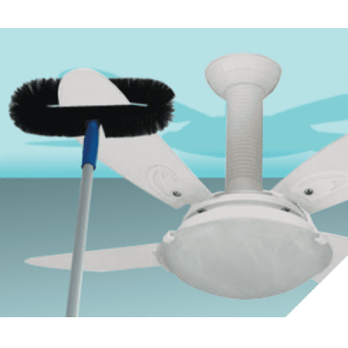 Escova para ventilador